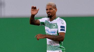 Hat die Bundesliga als Ziel: Fürth-Profi Daniel Keita-Ruel