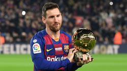 Lionel Messi gewann 2019 den Ballon d'Or