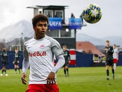 Karim Adeyemi in der Youth League gegen Liverpool