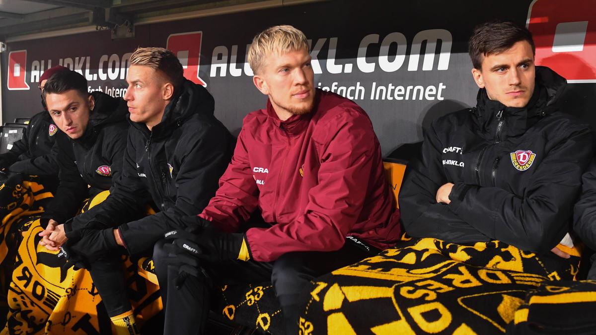 Dynamo Dresden zwei Spiele ohne Simon Makienok