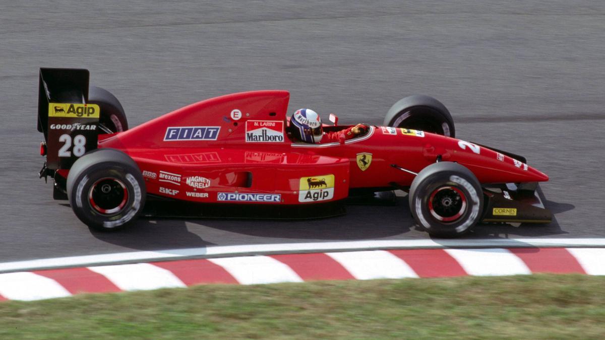 Nicola Larini im Ferrari F92A: Der Motor war das eigentliche Problem, nicht die Aero