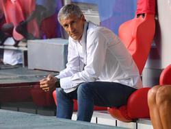 Quique Setién steht beim FC Barcelona vor dem Aus