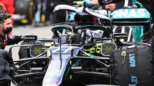 Mercedes hat auf den Ausfall von Bottas am Nürburgring reagiert