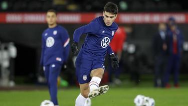 Gab sein Debüt in der US-Nationalmannschaft: Giovanni Reyna vom BVB
