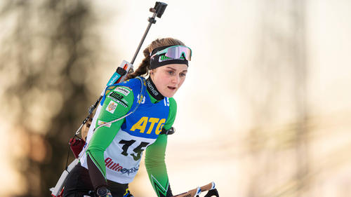 Gibt beim IBU Cup ihr Biathlon-Debüt: Stina Nilsson