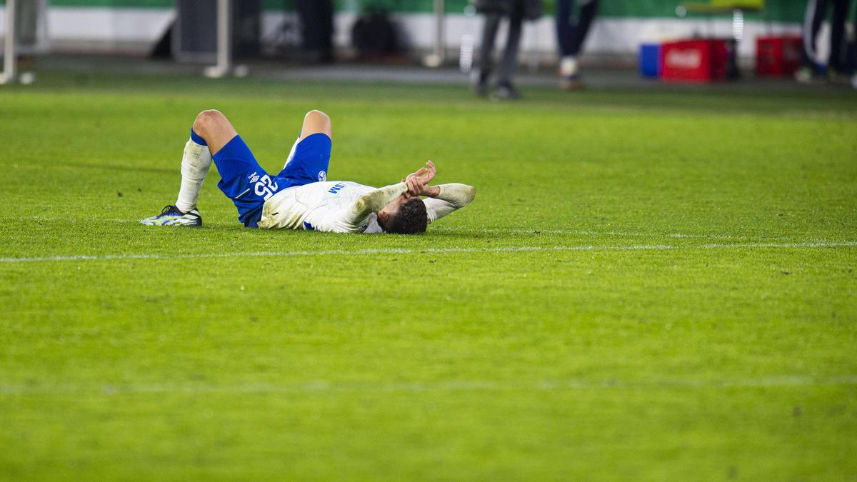 Amine Harit brach nach der Niederlage des FC Schalke 04 in Tränen aus