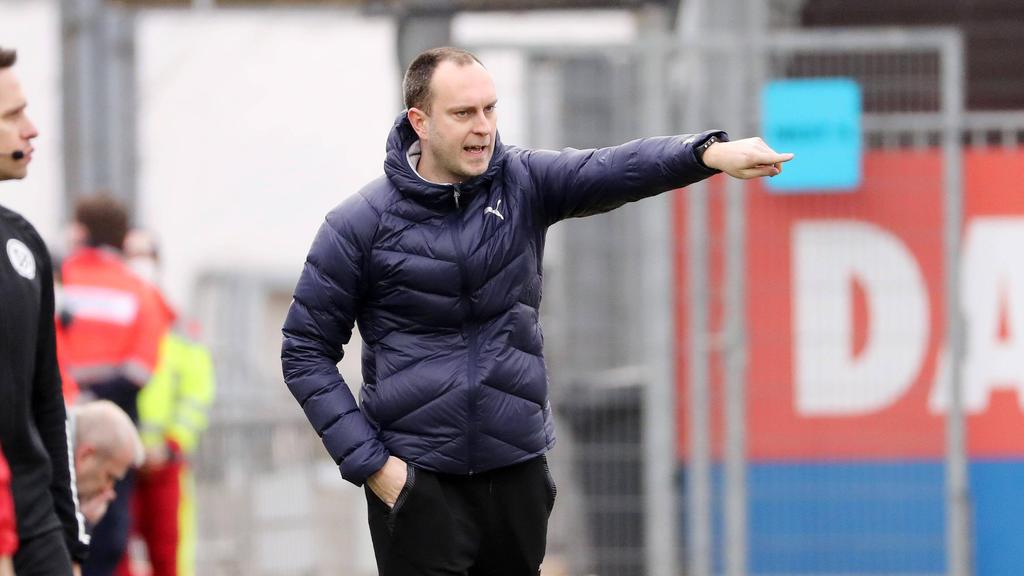 Ole Werner und Holstein Kiel stehen im Halbfinale des DFB-Pokals