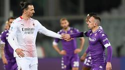 Zlatan Ibrahimovic gewann gegen Franck Ribéry
