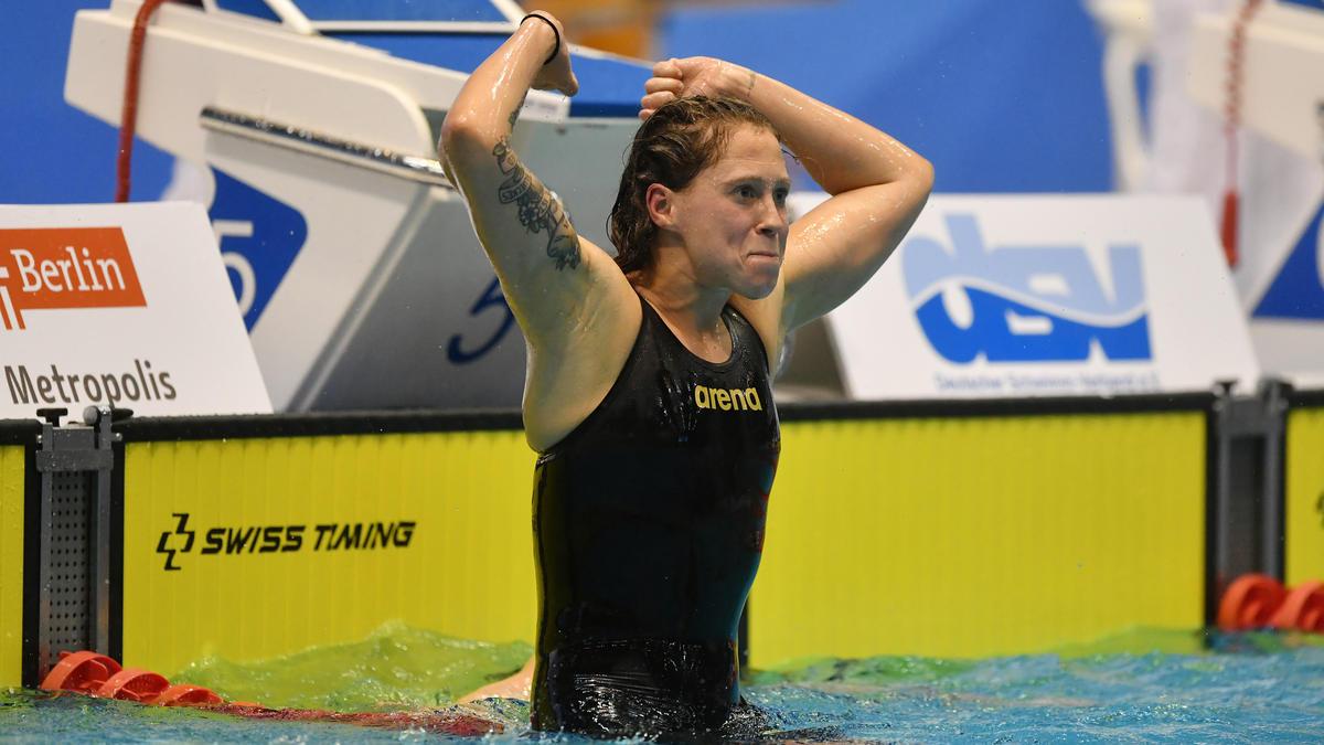 Sarah Köhler orientiert sich auch an ihrer Konkurrentin Katie Ledecky