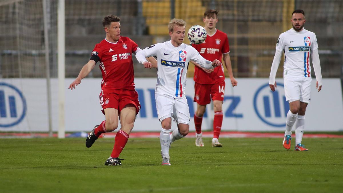 Hansa Rostock ist neuer Tabellenführer der 3. Liga