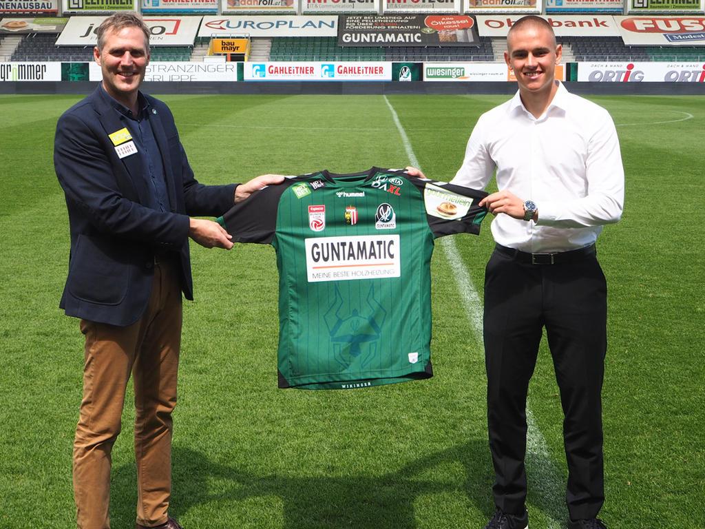 Die SV Ried schnappt sich Abwehrtalent Julian Turi