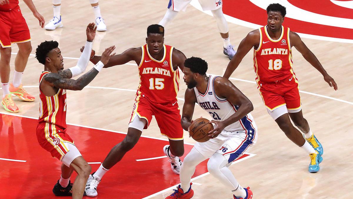 Die Atlanta Hawks liegen in der Playoff-Serie gegen die 76ers auf Kurs