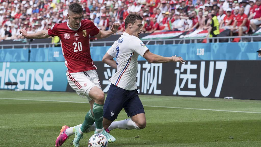 Benjamin Pavard vom FC Bayern enttäuschte gegen Ungarn