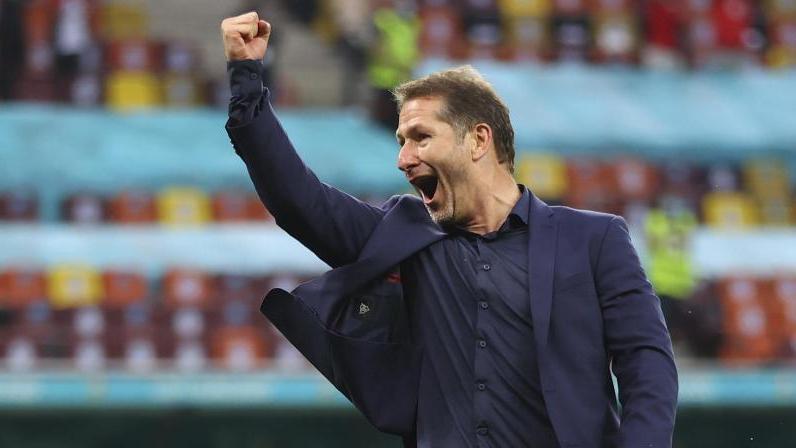 Hofft auf den Rückhalt der Fans im Achtelfinale gegen Italien: Der österreichische Trainer Franco Foda
