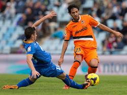 Valencias Dani Parejo (r.) im Spiel gegen Getafe