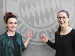 Lina Magull und Laura Benkarth wechseln nach München (Bildquelle: twitter.com/fcbfrauen)