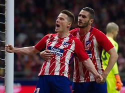 War mit seinem Tor gegen Deportivo Alaves Matchwinner: Atléticos Kevin Gameiro