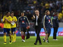 Beschäftigt sich ausschließlich mit Südkorea: Schweden-Coach Janne Andersson