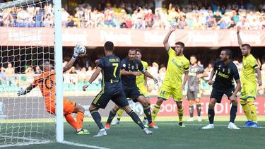 Juventus Turin siegt mit Cristiano Ronaldo knapp bei Chievo Verona