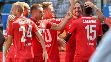 Der 1. FC Köln startet mit einem Sieg in Liga zwei