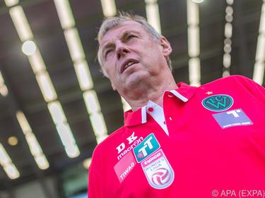 Wacker-Coach Karl Daxbacher will keinen Angsthasenfußball sehen