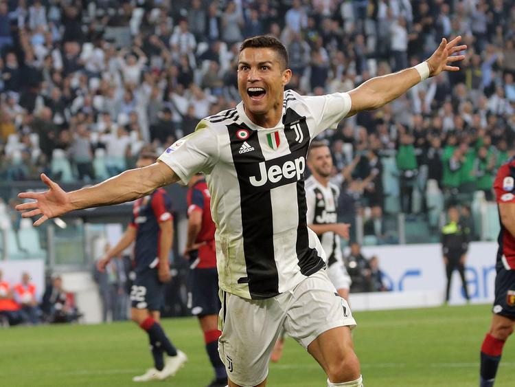 Cristiano marcó el único tanto de la Juve pero no pudo evitar el empate. (Foto: Getty)