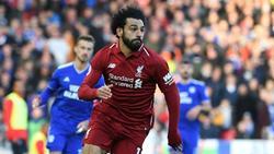 Sieht in echt irgendwie besser aus: Mohamed Salah