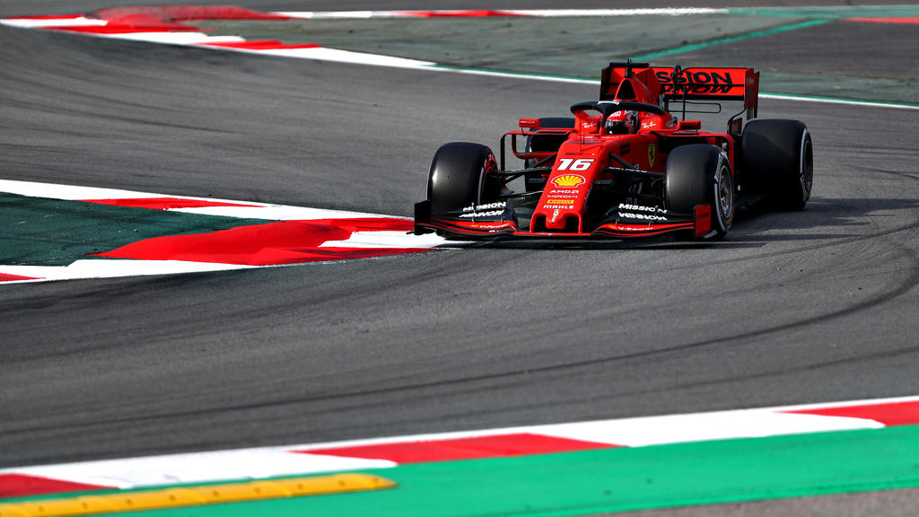 Charles Leclerc dominiert Tag 2 der Formel 1-Tests