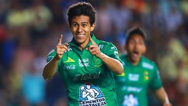 José Macías marcó el único gol del partido. (Foto: Getty)