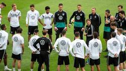 Nationalmannschaft vor Spiel gegen Estland vollzählig