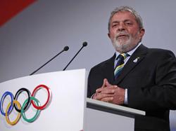 Lula Da Silva durante un acto preolímpico (Foto: Getty)