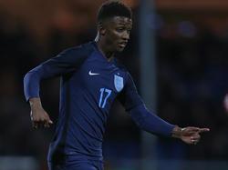 Demarai Gray erzielte die Führung für Englands U21