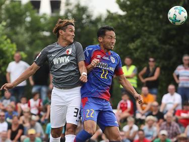 Takashi Usami (l.) kam gegen seine Landsmänner zum Einsatz
