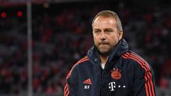 Hansi Flick ist noch bis mindestens zur Winterpause Trainer des FC Bayern