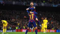 Lionel Messi glänzte beim Sieg des FC Barcelona gegen den BVB