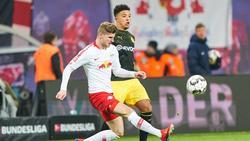 Timo Werner und Jadoch Sancho sollen bei FC Chelsea auf dem Zettel stehen