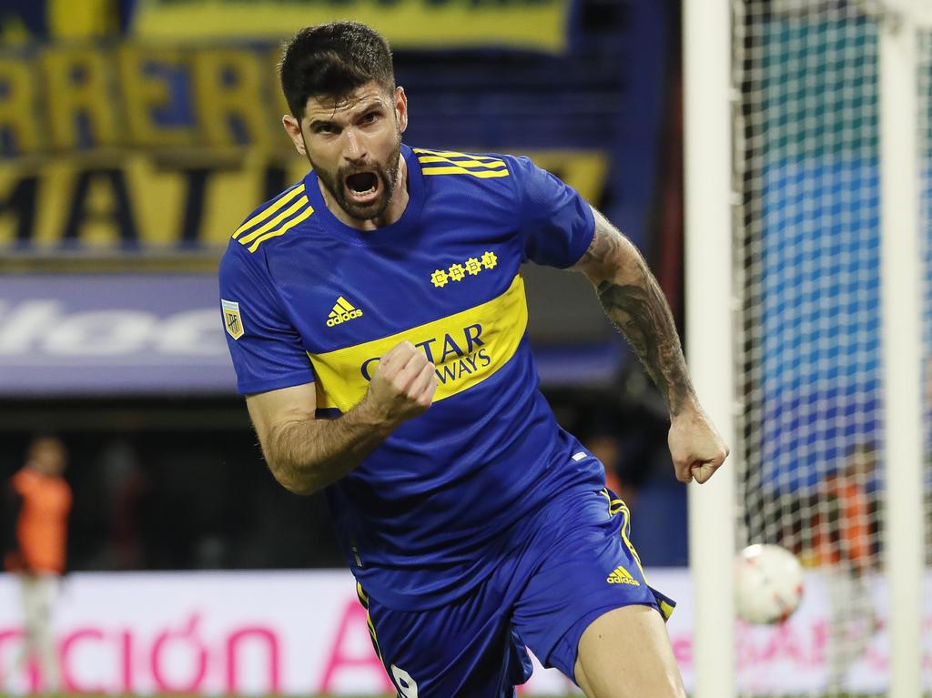 Orsini hizo el único gol para la cuenta bonaerense.