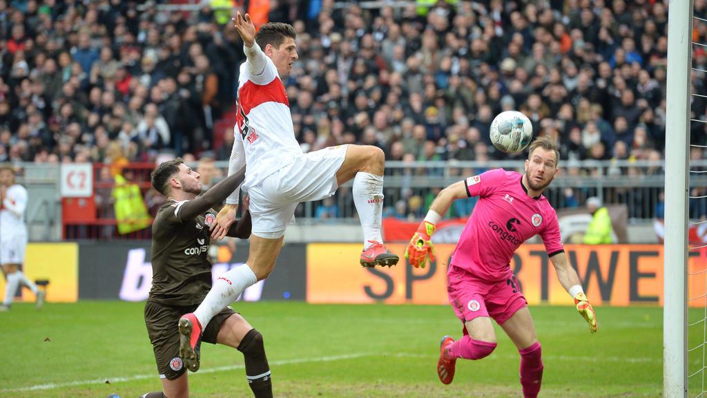 Mario Gomez erzielte den Treffer für den VfB Stuttgart