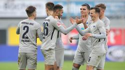 Hertha entführte drei Zähler aus Paderborn