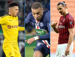 Bleiben Jadon Sancho, Kylian Mbappé und Zlatan Ibrahimović bei ihren jeweiligen Vereinen?