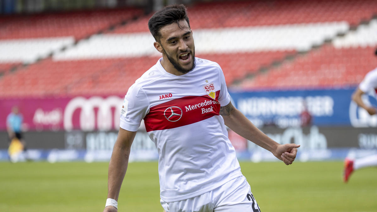 Hat angeblich das Interesse von BVB und Hertha BSC geweckt: Nicolás González vom VfB Stuttgart