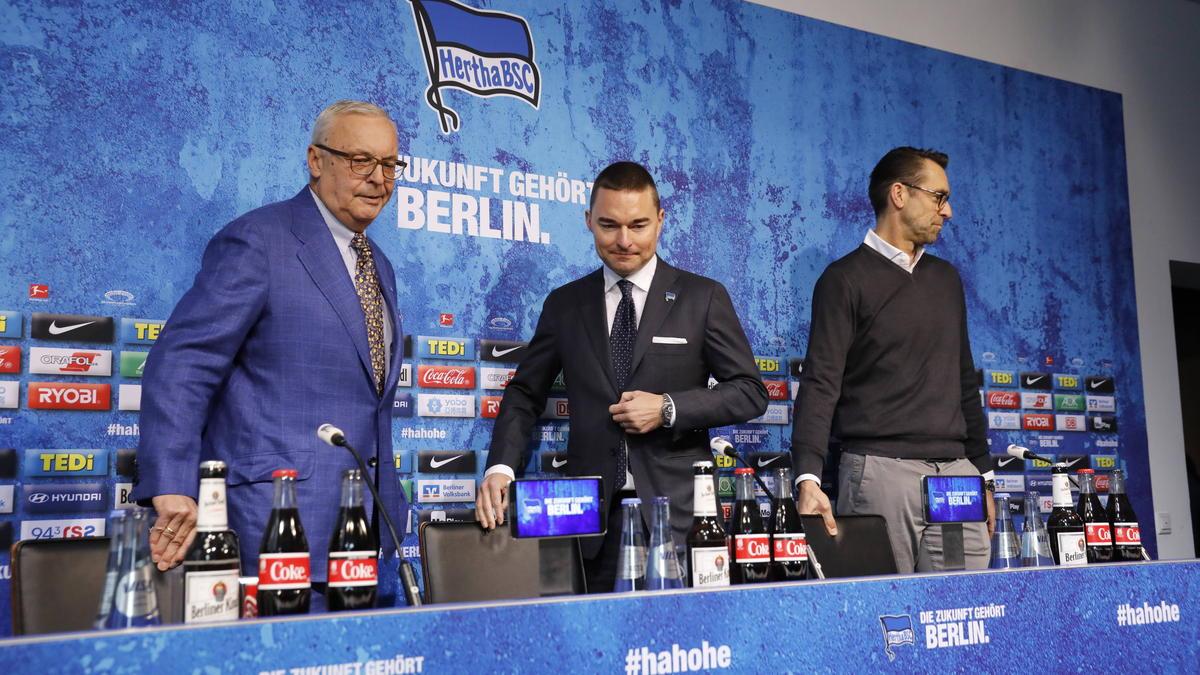 Hertha BSC ist auf Hauptsponsoren-Suche