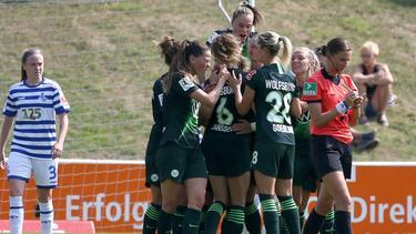 Die VfL-Frauen gewannen 3:0 zum Auftakt gegen Essen