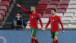 Cristiano Ronaldo steht bei 102 Treffern für Portugal