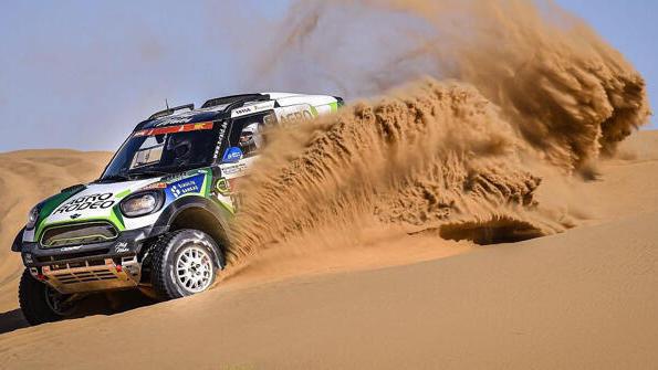 Kimi Räikkönen hat das Interesse an der Rallye Dakar verloren
