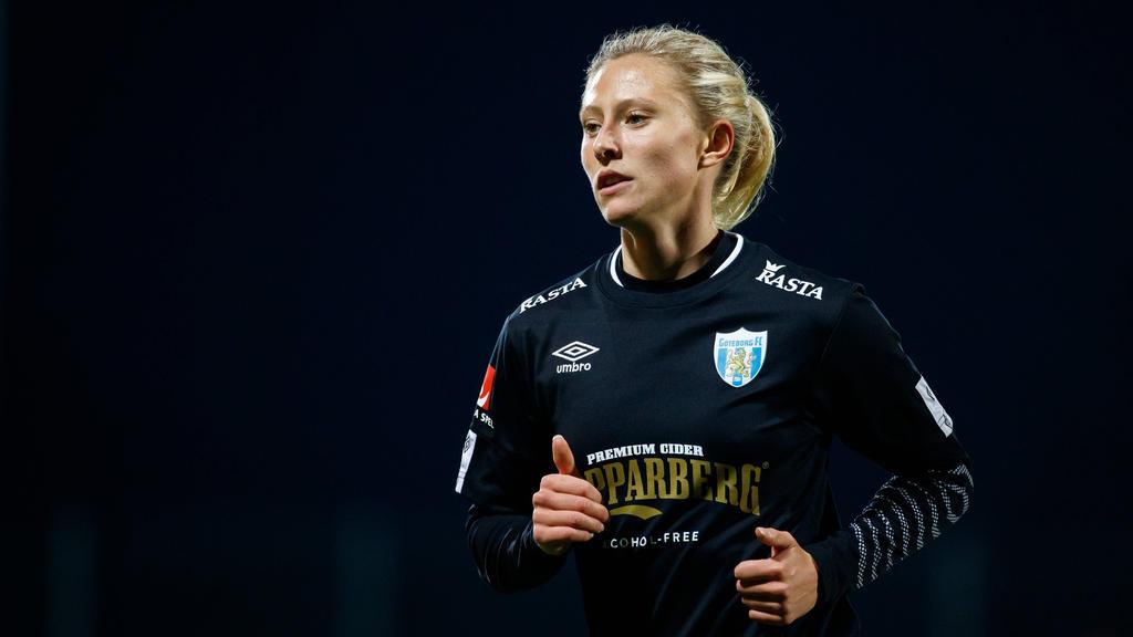 Rebecka Blomqvist, Winter-Neuzugang für den VfL Wolfsburg