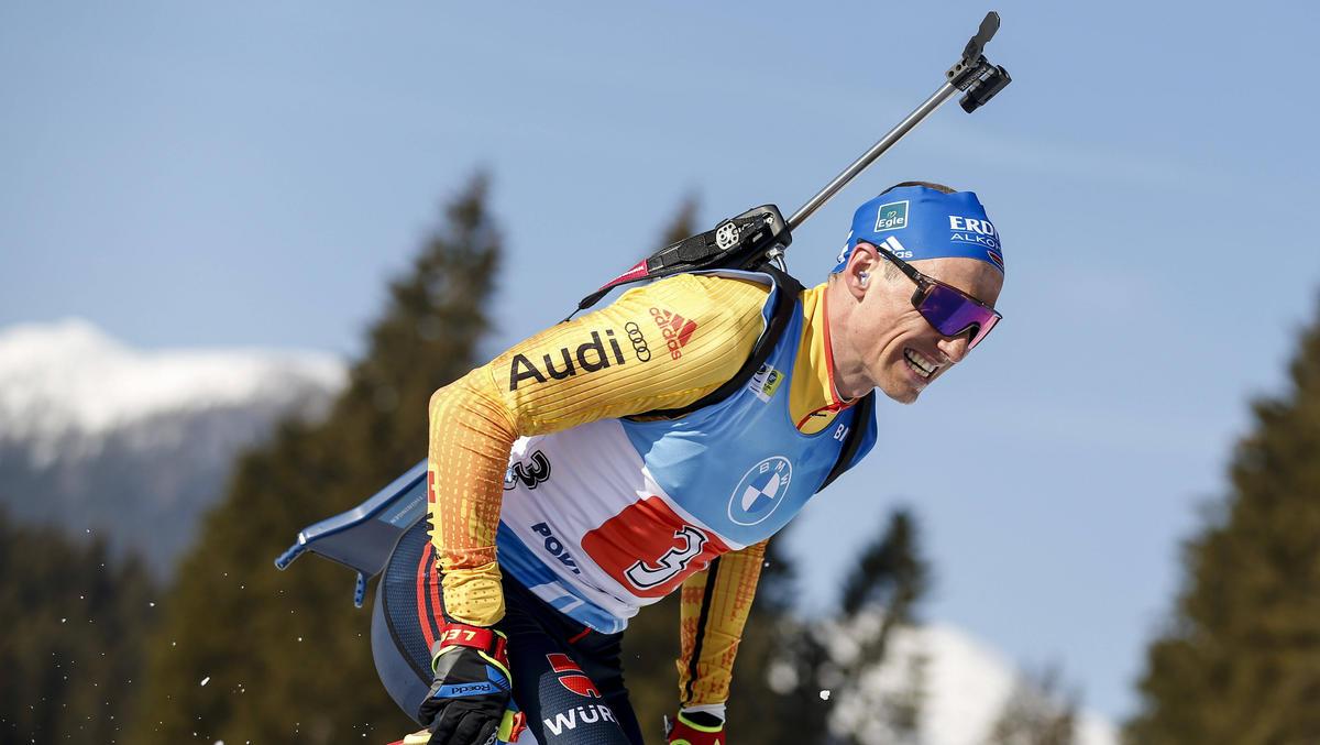 Erik Lesser brach im WM-Staffelrennen komplett ein