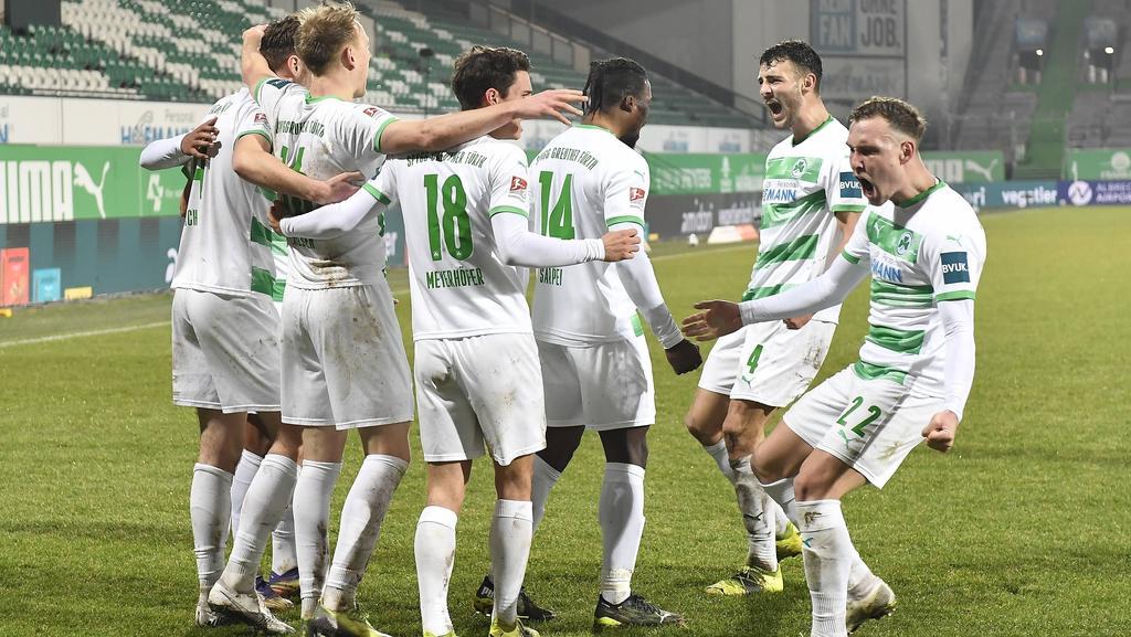 Greuther Fürth siegt nach Rückstand gegen Holstein Kiel