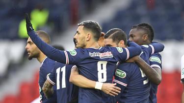 PSG hat sich klar gegen Ligue-1-Tabellenführer Lille durchgesetzt