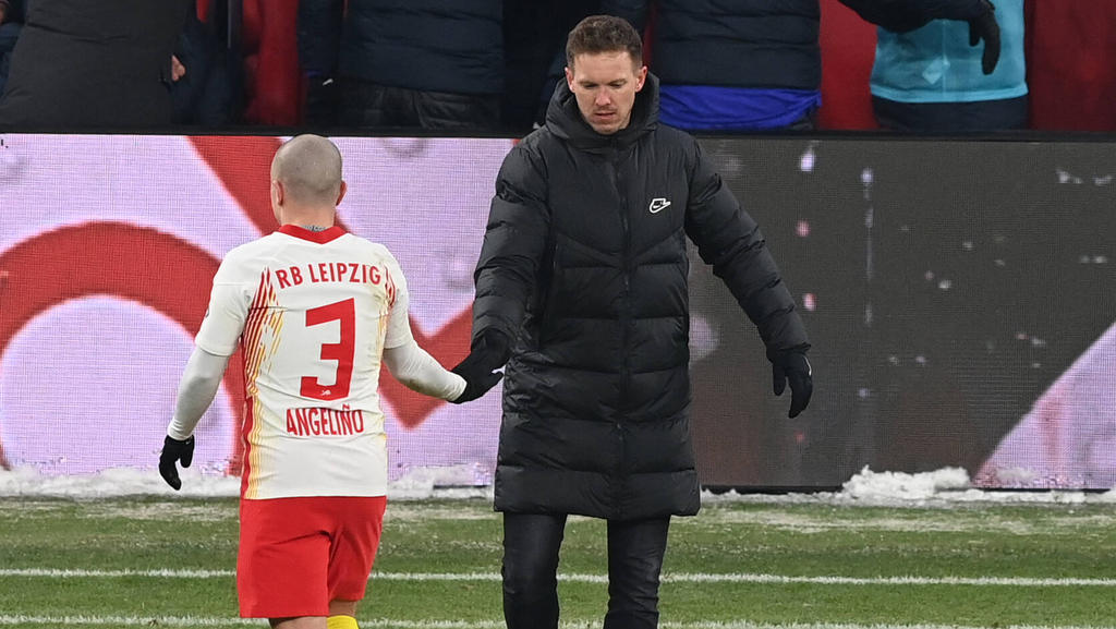 RB Leipzig im DFB-Pokal gegen den BVB ohne Angelino